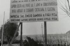 COSTRUZIONE-PONTE-CASCINA-LUGNANO-CUCIGLIANA-CASCINA-1957
