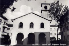 chiesa villaggio piaggio 1950