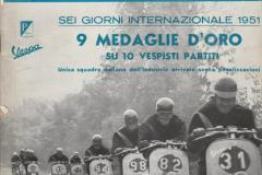 1951-SEI-GIORNI-INTERNAZIONALE-9-MEDAGLIE-DORO-SU-10-VESPISTI-PARTITI-