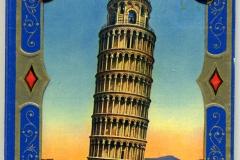 Copertina Libretto fotografico di Pisa (mio) - non c'è anno di stampa, ma sicuramente prima della guerra Ci sono vecchie fotografie e sul retro di ogni foto le relative spiegazioni Vedere Bibliobruna - Terr 246