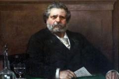 1301anni 1890 - g. carducci (dipinto di v.m. corcos (copia)
