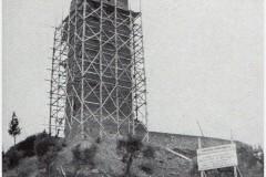 1372anni 1950 - la rocca ricostruita, in fase di ultimazione . (copia)