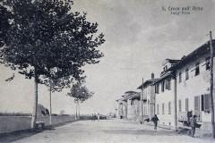 179114  santa croce sull'arno lung'arno viaggiata 1917