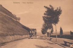 326volterra via carducci arrivo della diligenza postale 1919