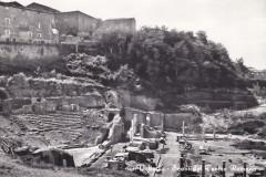 7290volterra scavi del teatro romano cartolina